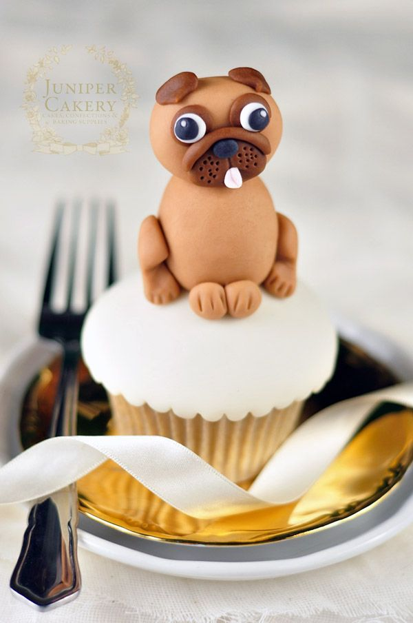 dog cake toppers 25 best ideas about pug cupcakes on pug 3643