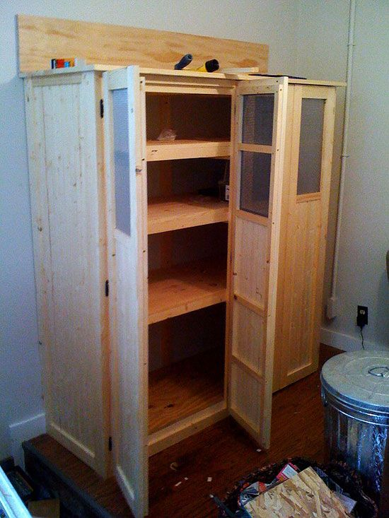 building shelves cabinets   Building A Multipurpose Key Cabinet: Mudroom Project Final Touch