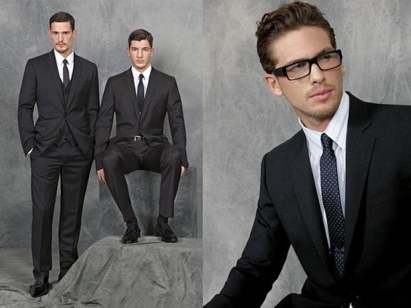 Купить строгий мужской приталенный костюм