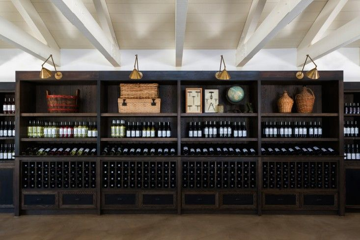 Tasting room at Cairdean in Napa Valley photography by Laure Joliet | Remodelista