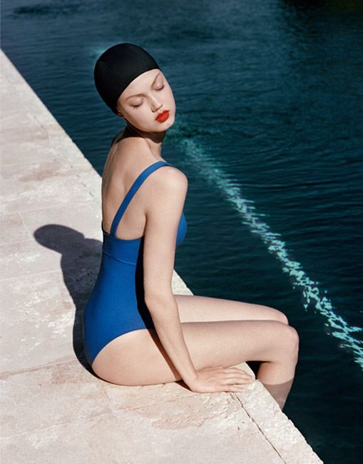 Lindsey Wixson Models Swimwear for Eres' Resort 2014 Campaign   Resorts, Models and 3)