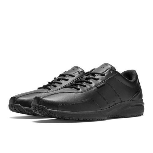 Slip Resistant 526 Men's Work Shoes - Black (MID526BK)