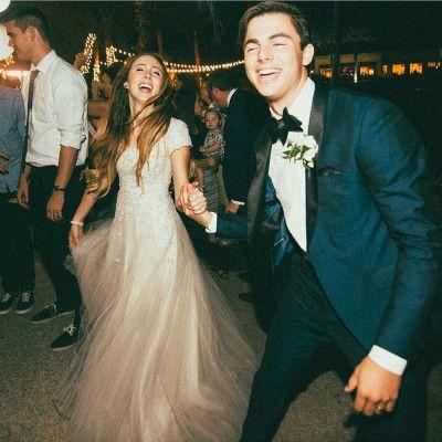 blush pink modest wedding dress from alta moda