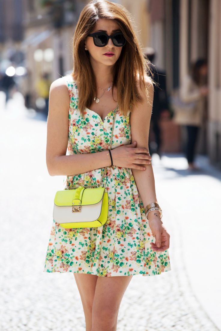 FLORAL PRINT DRESS FOR IMPERIAL SHOOTING