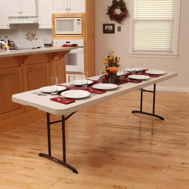 Table Shown Without Chairs
