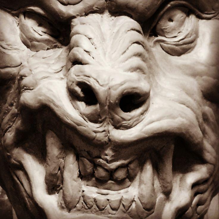 Máscara de lobisomem cada vez mais próxima de ficar pronta. Werewolf mask getting closer and closer to being ready. #escultura #sculpture #escultor #sculptor #mascara #mask #mascaradelatex #latexmask #clay #claysculpture #horror #terror #werewolf #werewolfmask #lobisomem #monstermask #monster #monstro #brasil #brazil #riodejaneiro #rj http://ameritrustshield.com/ipost/1548188403350462606/?code=BV8RSZzFWCO