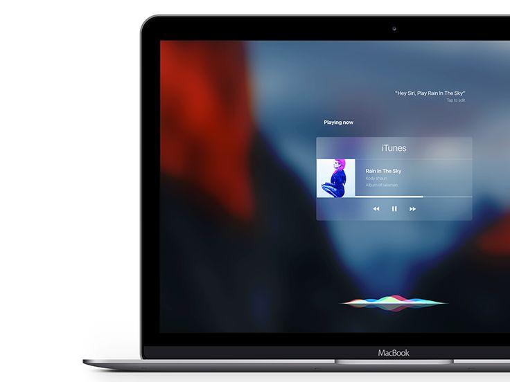 Siri OSX El Capitan by Aurélien Salomon