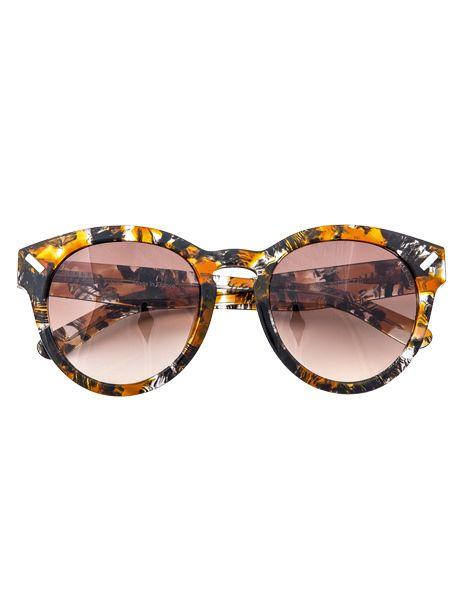 Lunettes de soleil en acétate, Kenzo Eyewear aux Galeries Lafayette, 216€