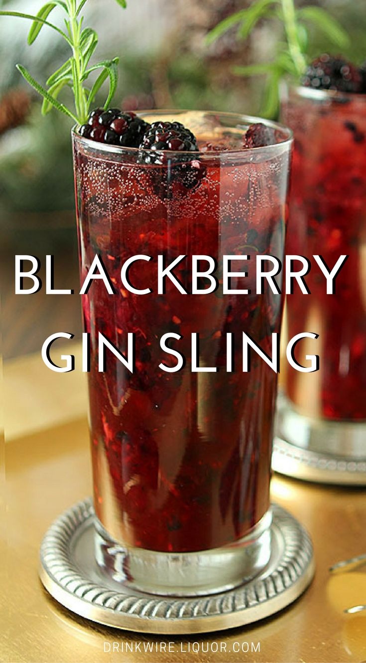 A refreshing and beautiful cocktail with a hint of rosemary combined with blackberries to make it perfect for any time of year! Inspired by the classic Singapore Sling, we have a feeling this is sure to be a hit!