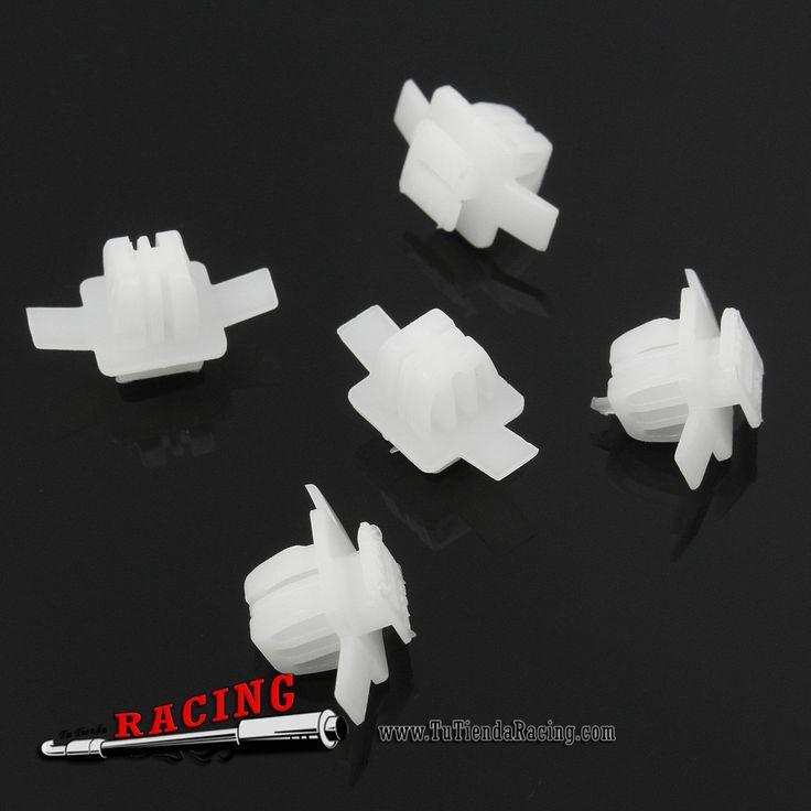 2,54€ - ENVÍO SIEMPRE GRATUITO - 5X Clips Remaches de Plástico Para Aletas de Ruedas de HONDA CIVIC CR-V CRV - TUTIENDARACING