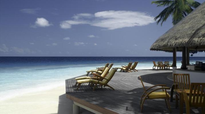 Baren på Angsana Ihuru, Maldiverne