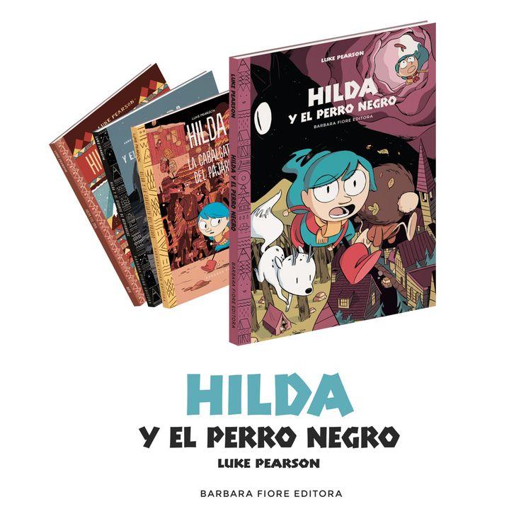 HILDA Y EL PERRO NEGRO ISBN:978-84-1502-63-1  Autor-Ilustrador: Luke Pearson