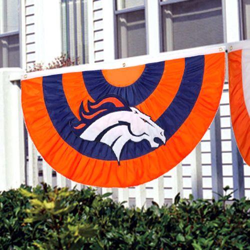 Denver Broncos Team Logo Bunting