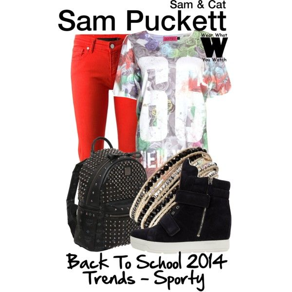 Inspired by Jennette McCurdy as Sam Puckett on Sam & Cat.
