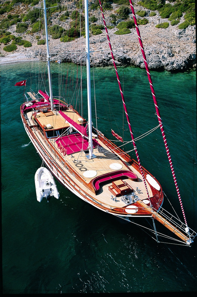 """Cruise along the spectacular Turquoise Coasts; """"The Blue Paradise"""" of Turkey by privately chartered GULET yachts..."""