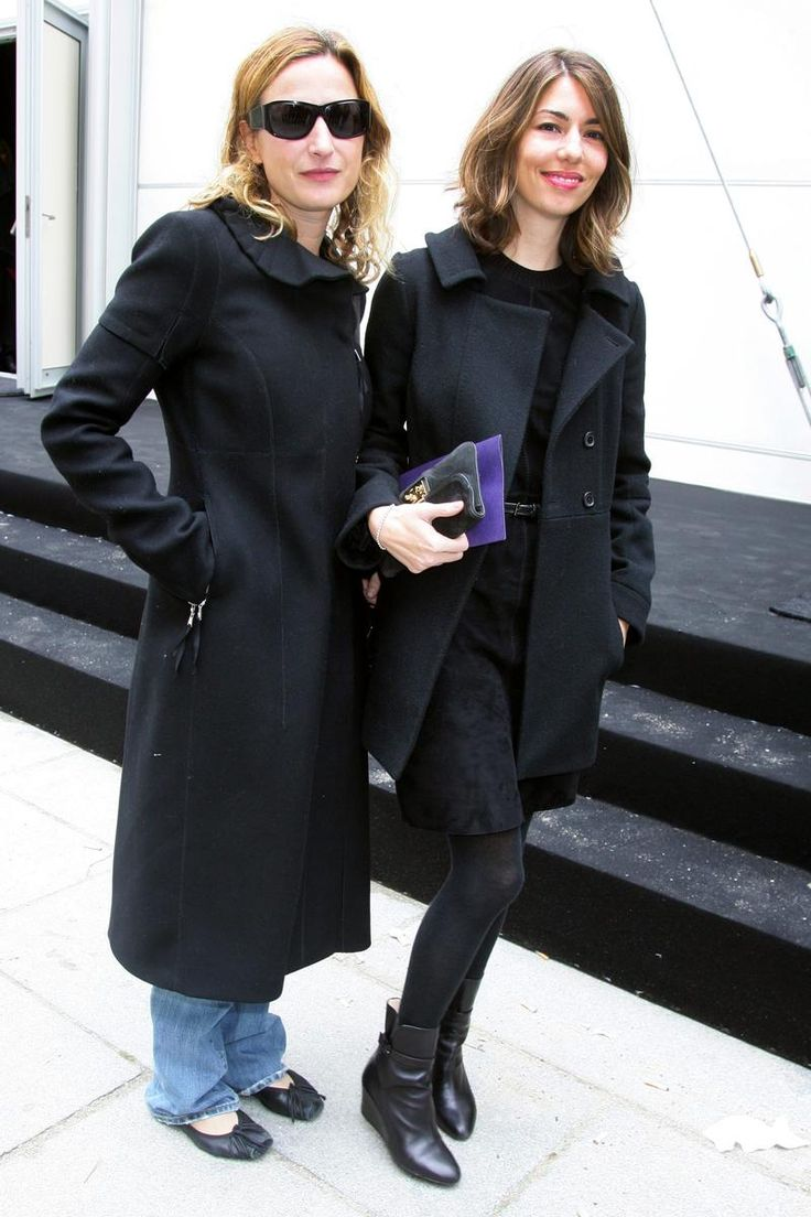 Where: With Zoe Cassavetes at the Louis Vuitton spring 2009 runway show, in Paris, France.