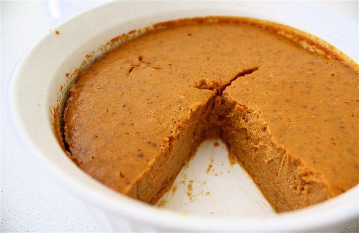 Crustless Pumpkin Pie Recipe & The Benefits of Eating It