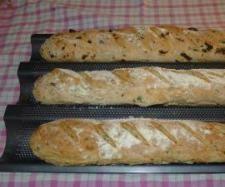 Recept Ochucené bagety od eliska - Recept z kategorie Chléb a rohlíky