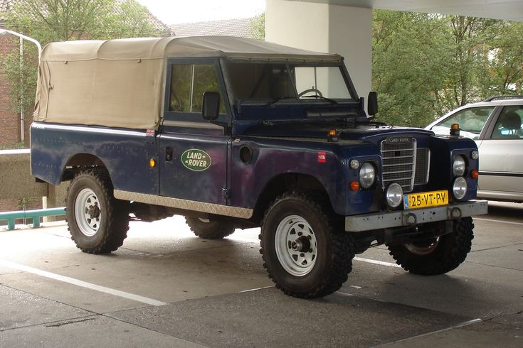 Land Rover 109 II Pick-up, 1972 | Flickr - Photo Sharing!