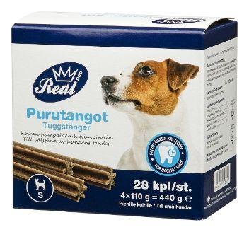 ✔ REAL DOG Purutanko 4x7x14g Size S - Lemmikkieläimet - Tokmanni