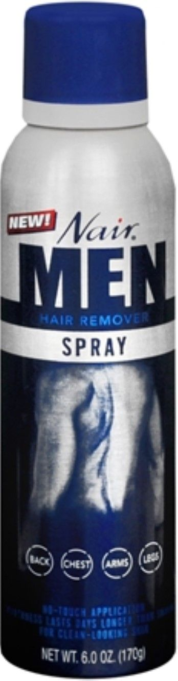 Nair For Men Hair Remover Spray 6 oz