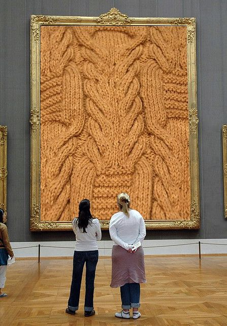 Knitting Art is always an Art by sifis, via Flickr