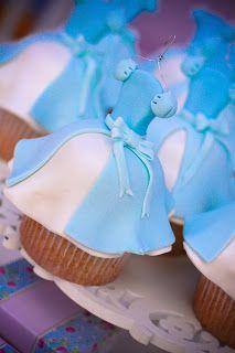 IMAGINE: FESTA CINDERELA. Bembolados Cupcakes.