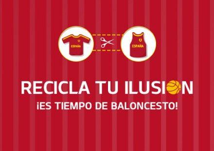 Recicla tu Ilusion: La copa del Mundo de Basket ya llega. Descubre nuestro consejo #baloncesto #basket #basketbol #basquetbol #kiaenzona #equipo #deportes #pasion #competitividad #recuperacion #lucha #esfuerzo #sacrificio #honor #amigos #sentimiento #amor #pelota #cancha #publico #aficion #pasion #vida #estadisticas #basketfem #nba