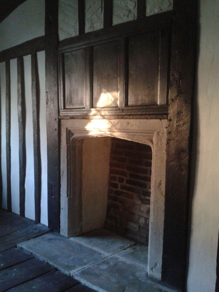 34 best Tudor fireplaces images on Pinterest | Fireplace surrounds ...