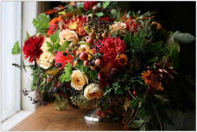 Язык цветов, история букета