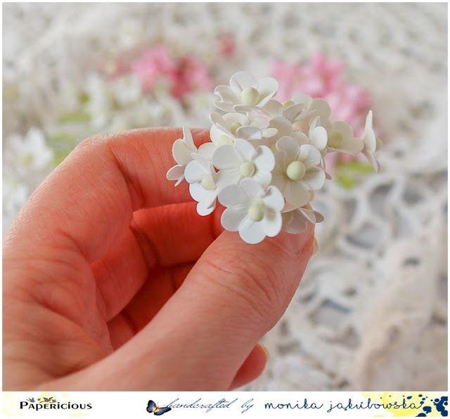 Kurs Na Kwiatuszki I Kartka Foam Flowers Flower Crafts Flower Making