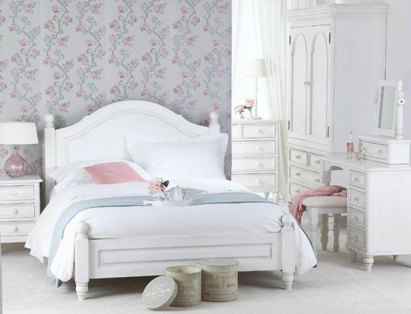 Die 25+ besten White double bed frame Ideen auf Pinterest weiße - schlafzimmer ideen spannende luxusmobel