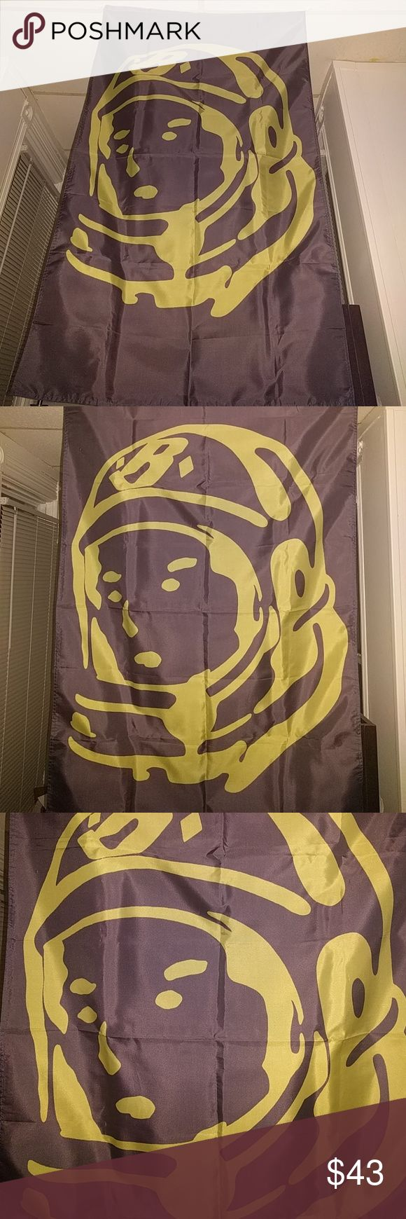 {BILLIONAIRE BOYS CLUB}High Definition 5ft Flag This is our last. Brilliant clarity, 5ft long and 3ft wide Billionaire Boys Club Accessories Key & Card Holders