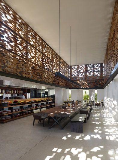 Alila Villas in Bali, by WOHA