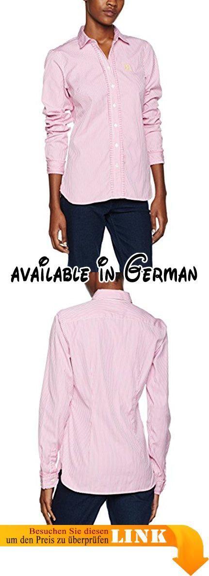 Tommy Hilfiger Damen Hemd Aster Stp Shirt LS W2 Rosa (Phlox Pink/Classic White 902), 36. Regular Fit #Apparel #SHIRT