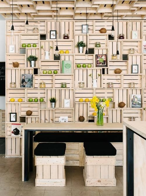 Made from crates!