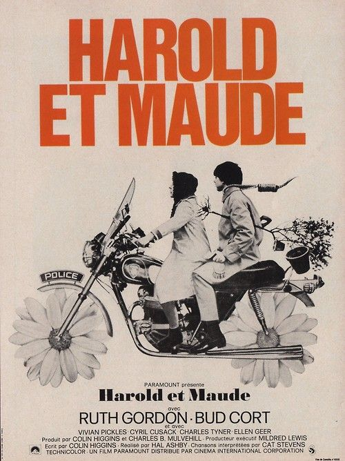 Hal Ashby's Harold and Maude (1971).