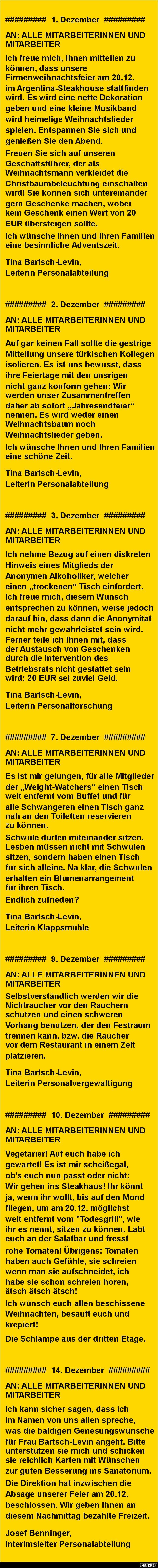 Weihnachtsfeier | DEBESTE.de, Lustige Bilder, Sprüche, Witze und Videos