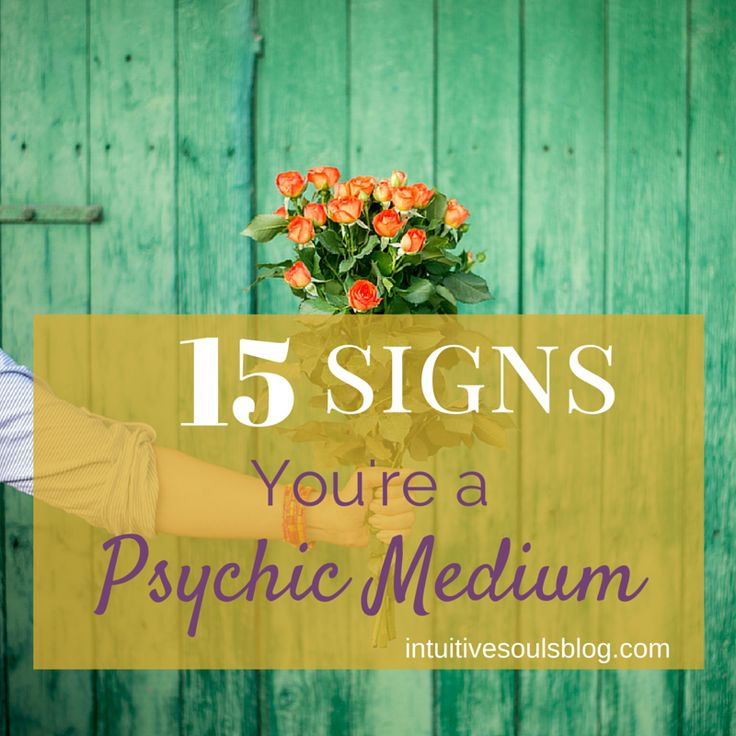 "Do you see sparkles out of the corner of your eye? Sense energy or a ""presence"", but no one is there? You just might be a psychic medium! Here are 21 signs."