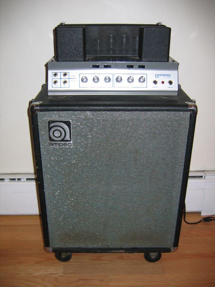 Vintage Ampeg Portaflex B15 *want it*