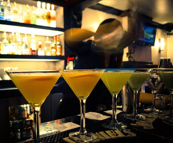 We are known for our wild and crazy...and sophisticated...selection of Martinis!