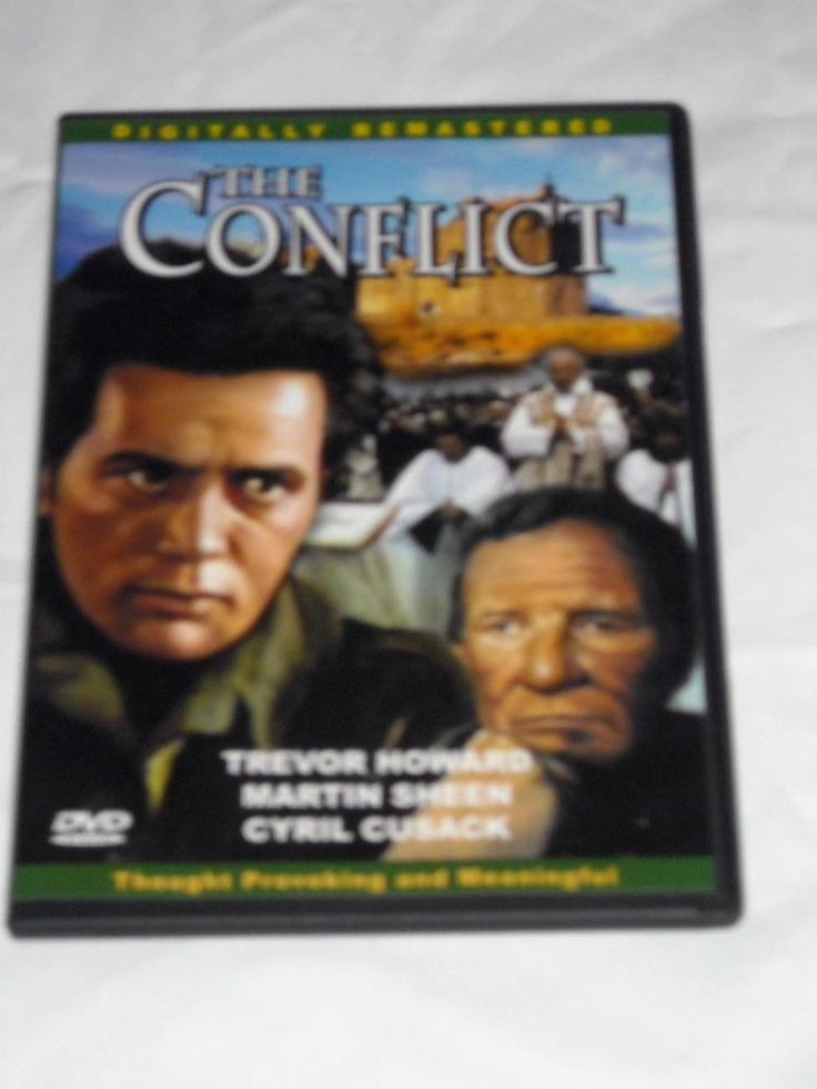 $8.79 The Conflict DVD Starring Trevor Howard Martin Sheen Cyril Cusack Free Shipping