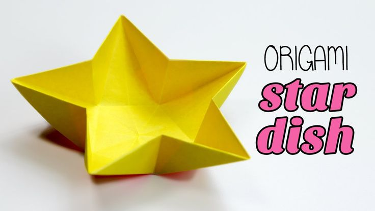 Origami Star Dish / Bowl Instructions