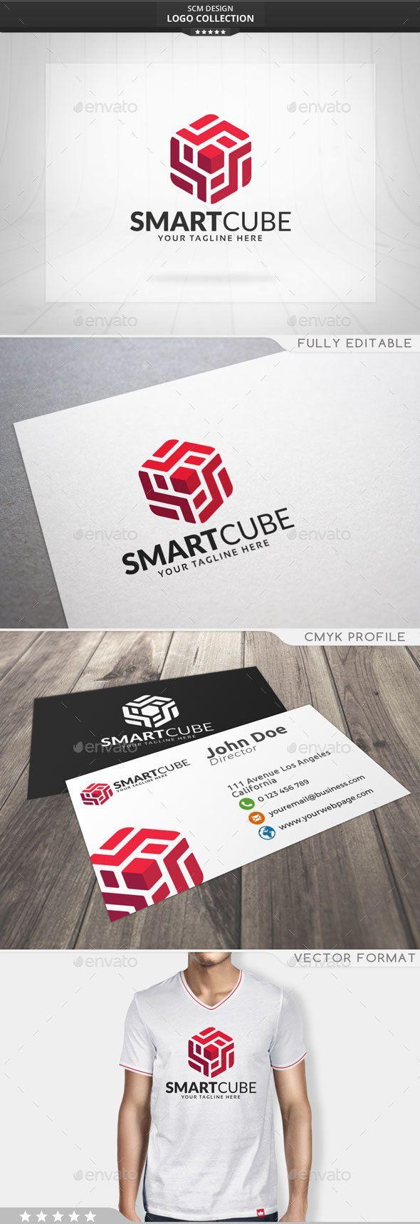 Smart Cube Logo 94 best Design images