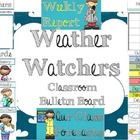 Cute clip art for bulletin board and weather tracking great to laminate and have students use as an interactive bulletin board!   Set includes: Wea...