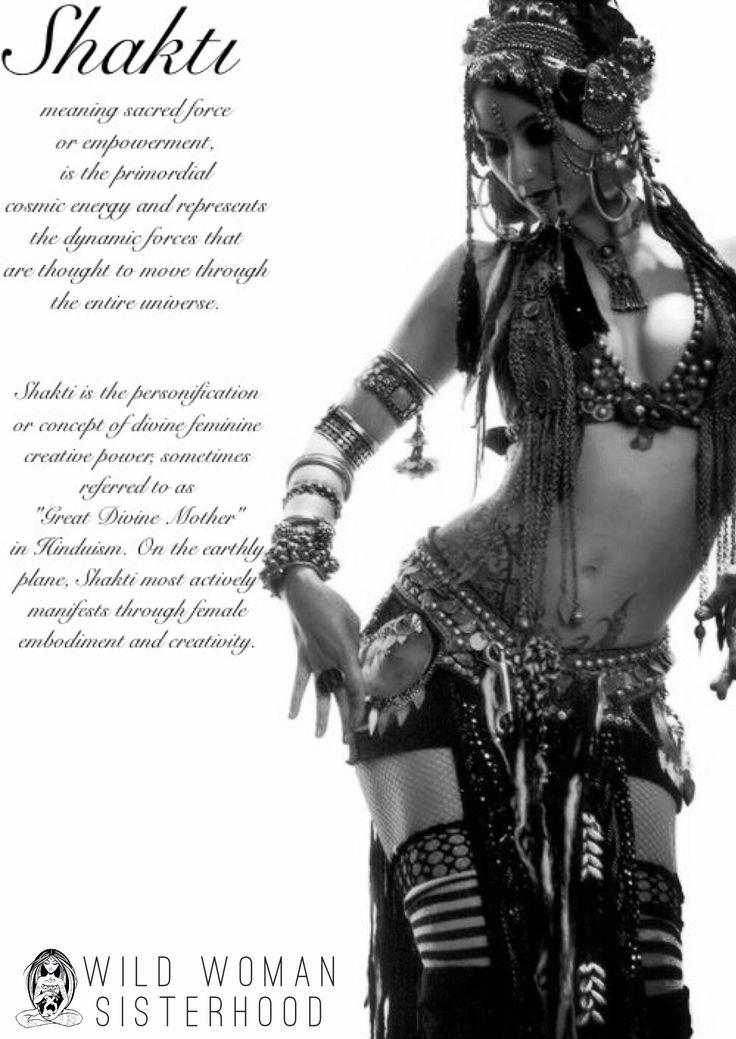 Shakti.. WILD WOMAN SISTERHOOD ™ #shakti #goddess #wildwomansisterhood