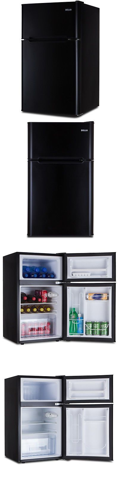 Major Appliances: New 3.2 Cu .Ft. 2-Door Mini Dorm Upright Compact Refrigerator And Freezer Fridge -> BUY IT NOW ONLY: $159.97 on eBay!