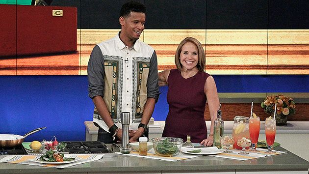 "Chef Roble's ""A-list"" Recipes – Katie Couric"