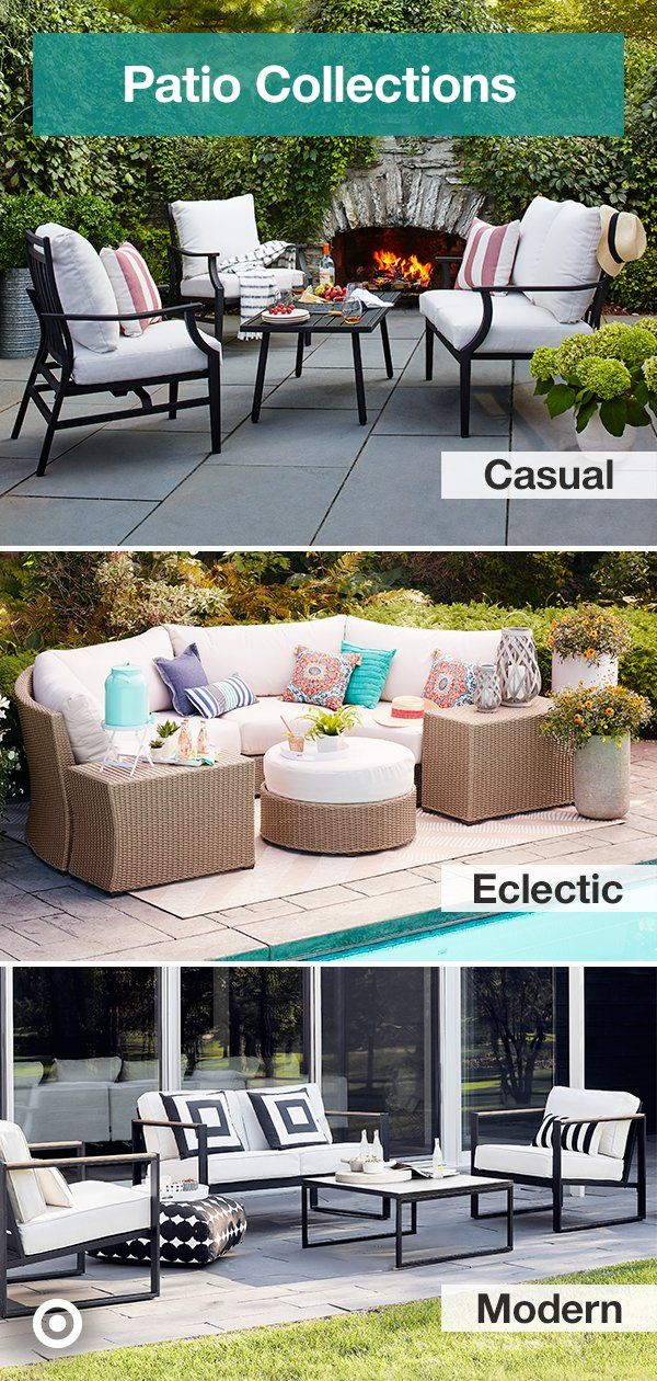 Create Your Dream Outdoor Space With Patio Furniture Ideas Curated