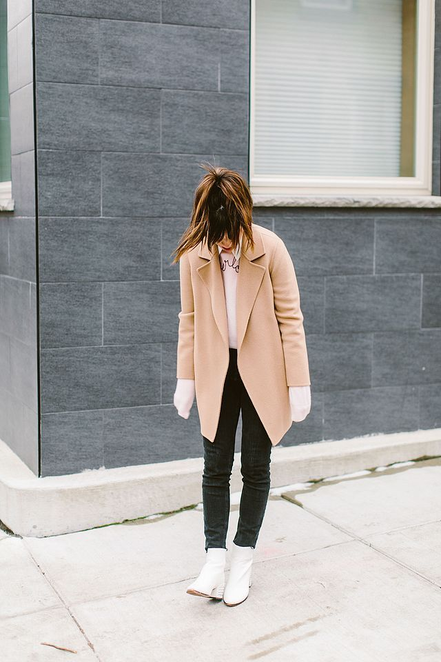 Wearing White Ankle Boots With Black Jeans And….THIS Surprising Color